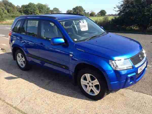 suzuki 2007 grand vitara ddis blue car for sale. Black Bedroom Furniture Sets. Home Design Ideas