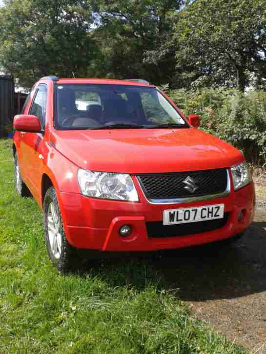 suzuki 2007 grand vitara vvt red 1 6 3door car for sale. Black Bedroom Furniture Sets. Home Design Ideas