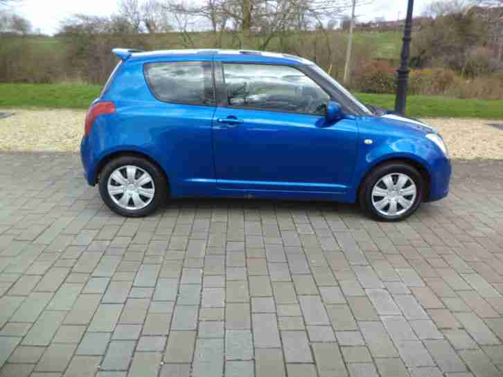 2007 SUZUKI SWIFT GL 1.3 BLUE LOVELY CAR 3 DOOR JUST SERVICED