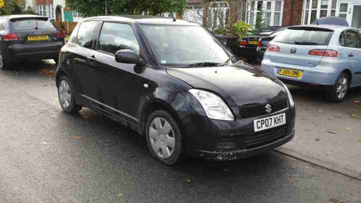 2007 SWIFT GL BLACK 1.3 PETROL IDEAL