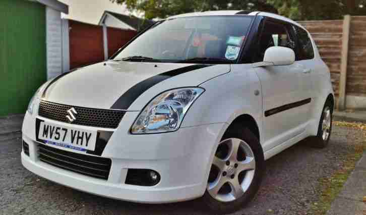 2007 SUZUKI SWIFT VVTS 1.5 GLX, 43,000 MILES