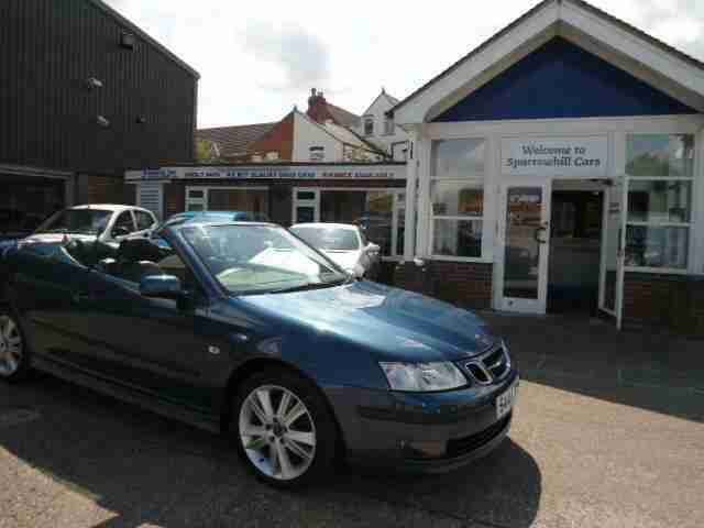 2007 Saab 9 3 1.9 TiD Vector Anniversary 2dr Sports Diesel Manual