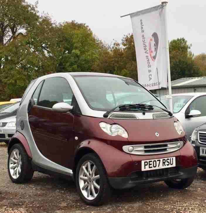 Smart 2007 Fortwo 0.7 Passion 3dr. Car For Sale