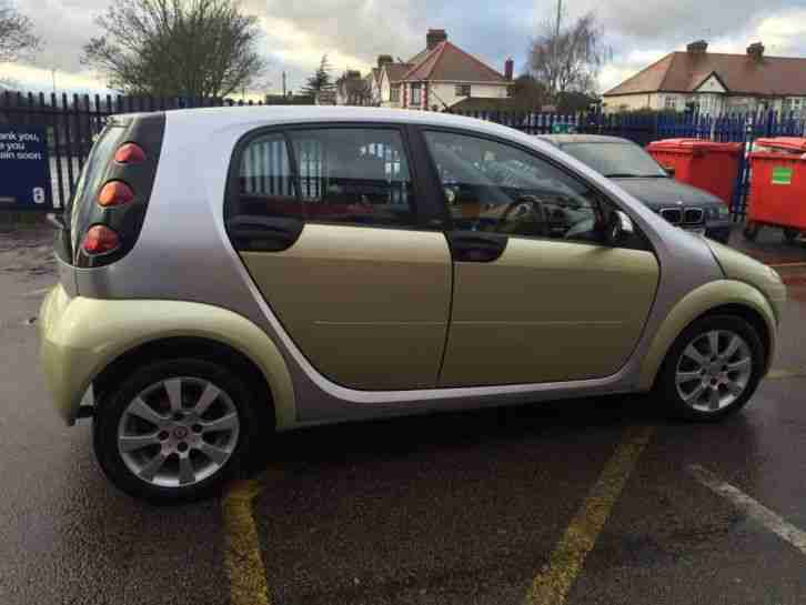 2007 Smart forfour 1.5 Automatic Passion 5 Door Great Spec Low Mileage