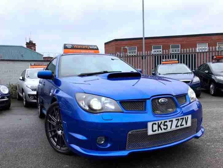 2007 Subaru Impreza 2.5 WRX GB270 4dr Blue 360BHP WARRANTY+BREAKDOWN AVAILABLE