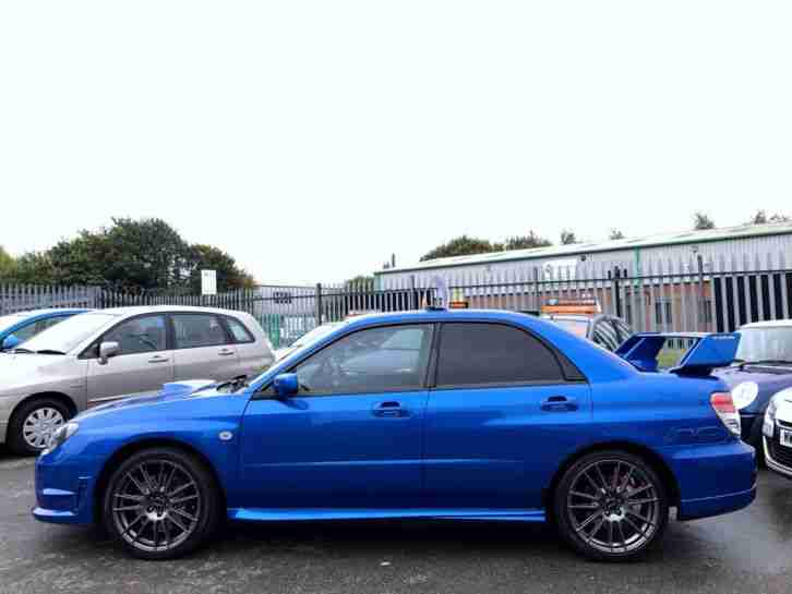 *2007 Subaru Impreza 2.5 WRX GB270 4dr Blue 360BHP WARRANTY+BREAKDOWN AVAILABLE