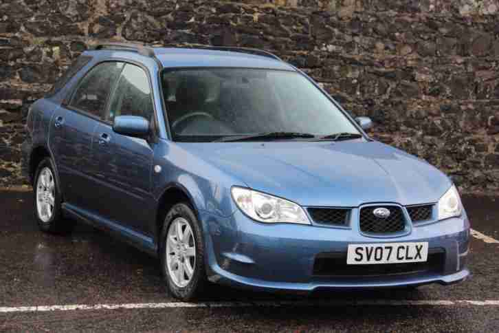 2007 Impreza R SPORTS WAGON Petrol
