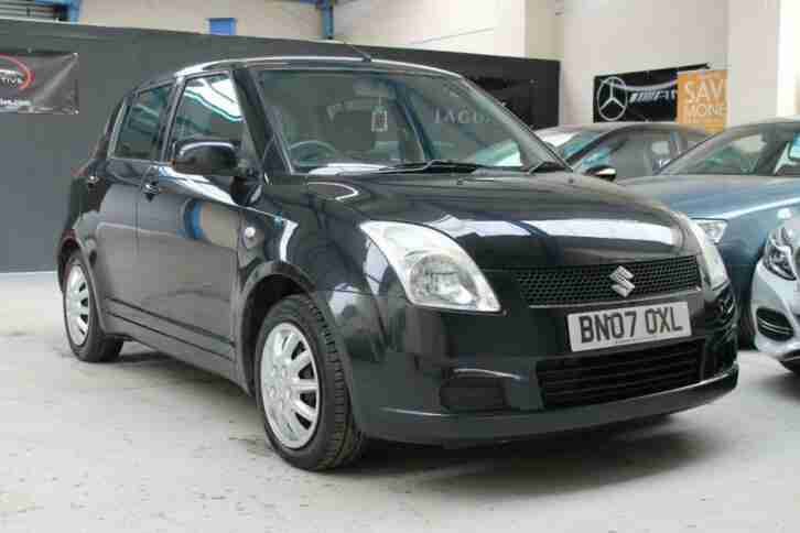 2007 Suzuki Swift 1.3 GL 5dr BLACK 5 DOOR 5 door Hatchback