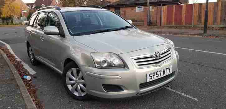2007 Toyota Avensis 2.0D 4D Colour Collection full service history