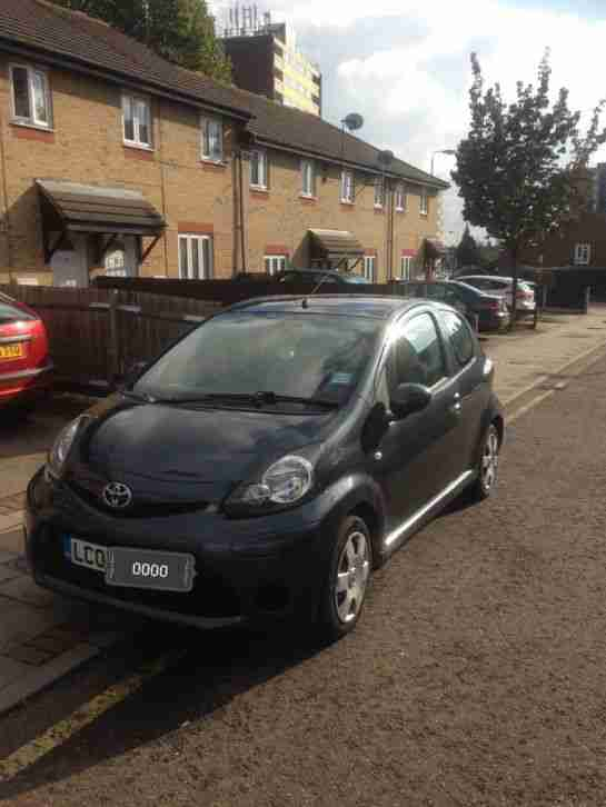 Toyota Aygo. Toyota car from United Kingdom