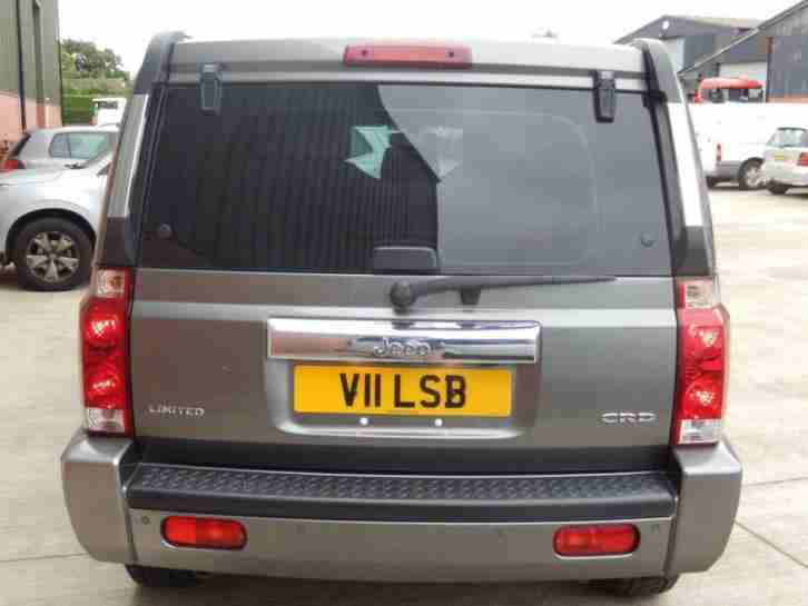 2007 V JEEP COMMANDER 3.0 V6 CRD LIMITED 5D AUTO 215 BHP DIESEL GREY