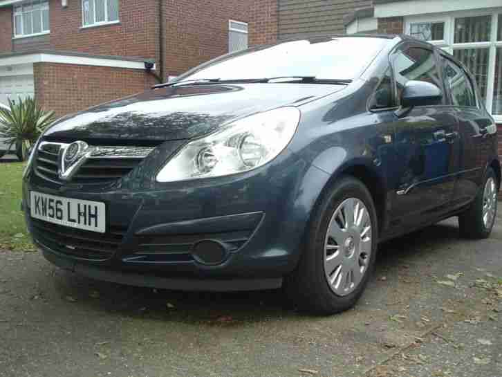 vauxhall 2007 1 2 corsa club a c blue excellent low mileage car for sale. Black Bedroom Furniture Sets. Home Design Ideas