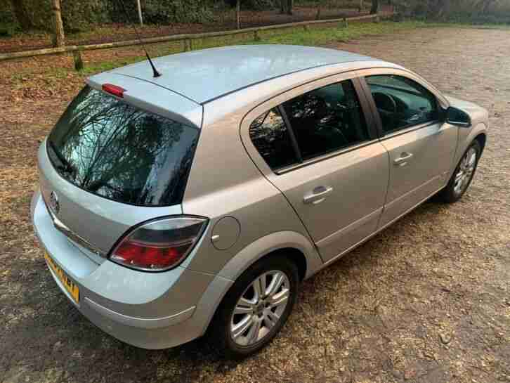 2007 VAUXHALL ASTRA 1.6 DESIGN. LONG MOT,