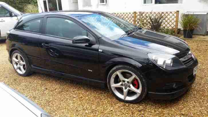 2007 Vauxhall Astra Sri Cdti 150 Black Sat Nav Heated Seats Exterior
