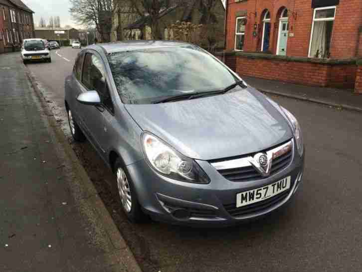 2007 VAUXHALL CORSA LIFE SILVER