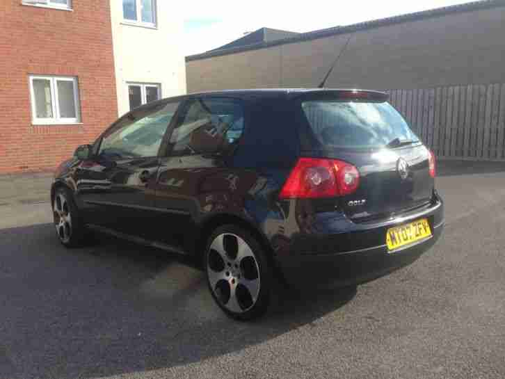 2007 VOLKSWAGEN GOLF 2.0L S SDI BLACK