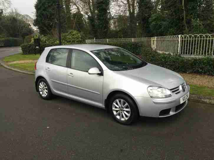 volkswagen 2007 golf match tdi 105 silver 39 low mileage 39 car for sale. Black Bedroom Furniture Sets. Home Design Ideas