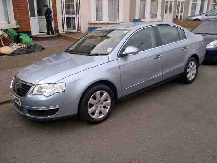 volkswagen 2007 passat se tdi 140 blue car for sale. Black Bedroom Furniture Sets. Home Design Ideas