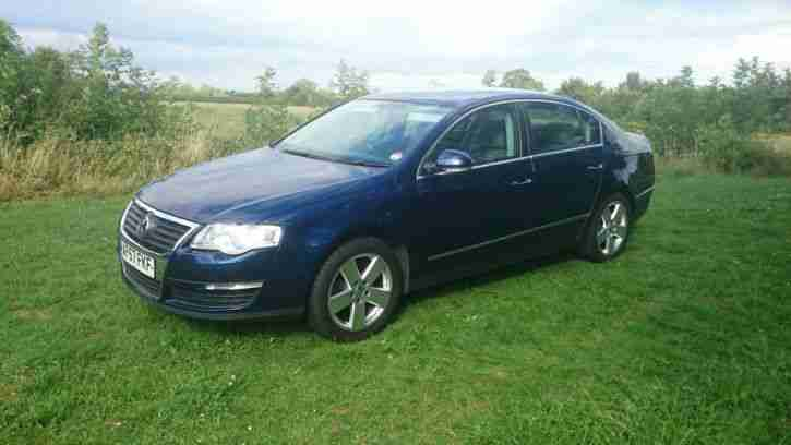 volkswagen 2007 passat se tdi 140 blue new turbo car for sale. Black Bedroom Furniture Sets. Home Design Ideas