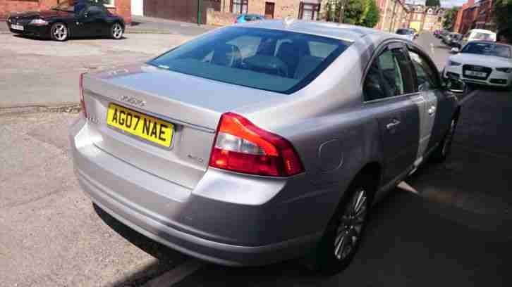 volvo 2007 s80 se a silver 2 4 d auto turbo diesel top spec p x car for sale. Black Bedroom Furniture Sets. Home Design Ideas
