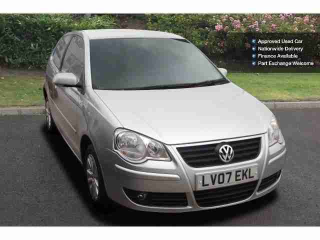 2007 Volkswagen Polo 1.4 S 75 3Dr Auto Petrol Hatchback