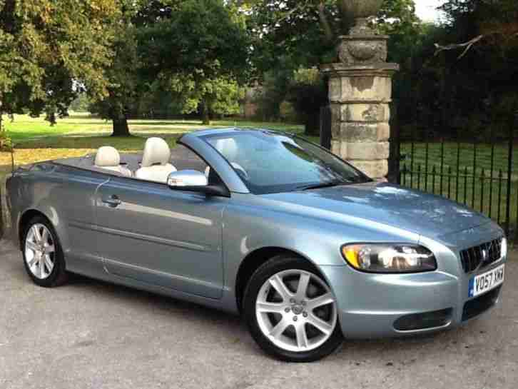 volvo 2007 c70 se 2 4 convertible full service history. Black Bedroom Furniture Sets. Home Design Ideas