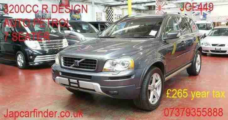 2007 XC90 R Design Auto petrol low