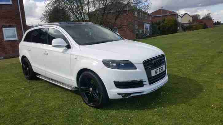 2007 audi q7 white fully loaded no px no swap why