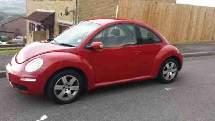 2007 sexy salsa red vw beetle 1.6 petrol.full history inc cambelt