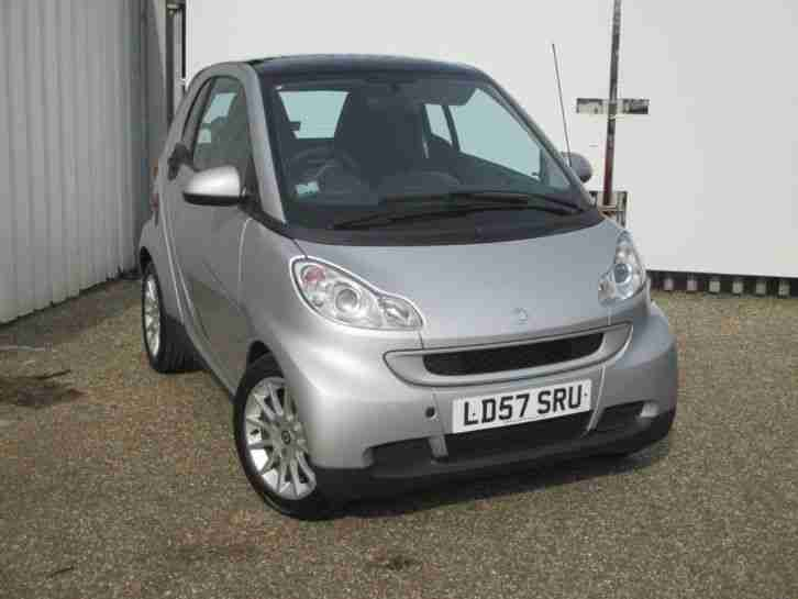 2007 smart fortwo coupe Smart Fortwo Passion 71 Coupe Auto Petrol Silver Automat
