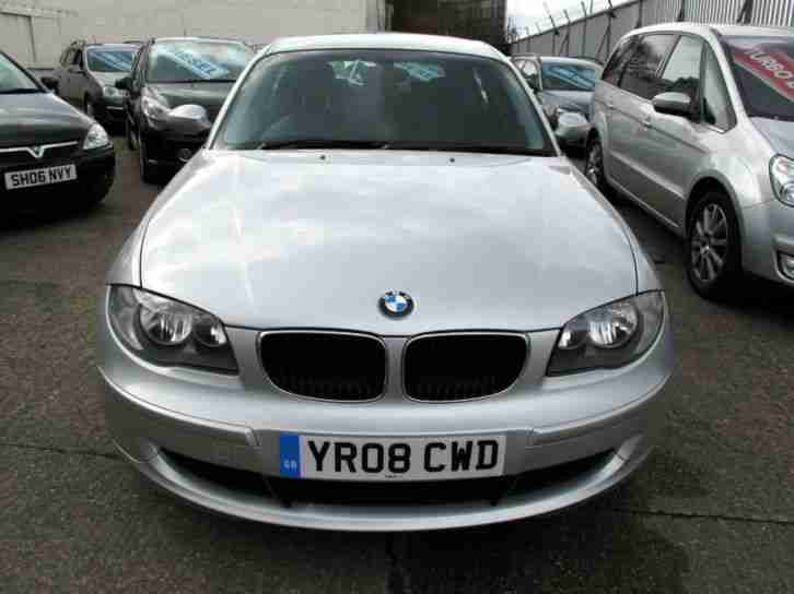 2008 08 BMW 118 2.0TD ES Diesel 5 Door 10 Stamps £30 Rd/Tax Silver
