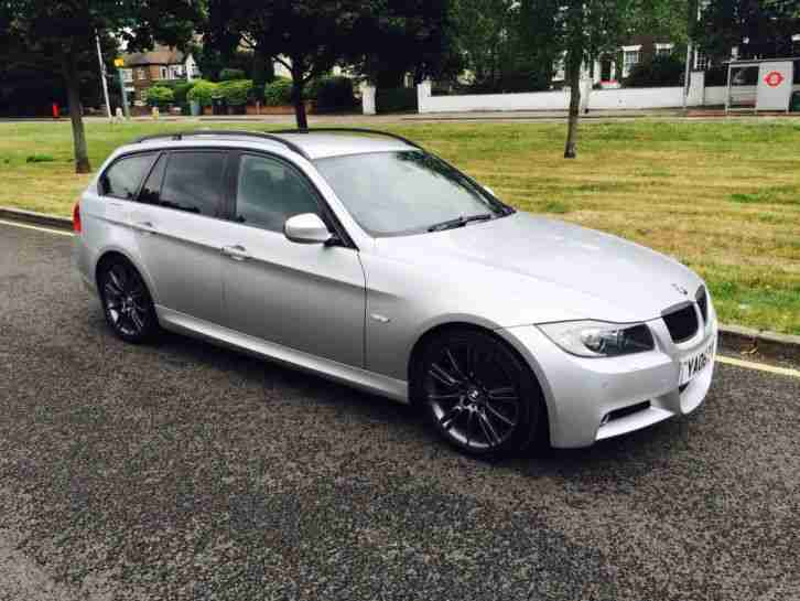 bmw 2008 08 325d m sport touring estate fully loaded 18s. Black Bedroom Furniture Sets. Home Design Ideas