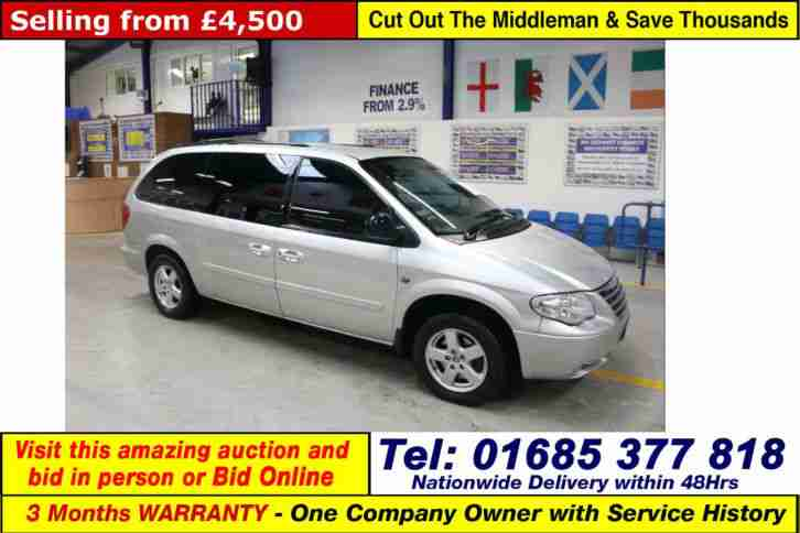 2008 - 08 - CHRYSLER GRAND VOYAGER EXECUTIVE XS CRD 2.8TD AUTO MPV (GUIDE PRICE)