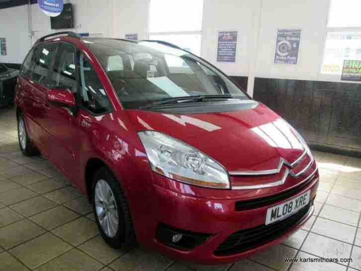 2008 (08) CITROEN C4 GRAND PICASSO 1.6 VTR PLUS HDI EGS 5DR SEMI AUTOMATIC
