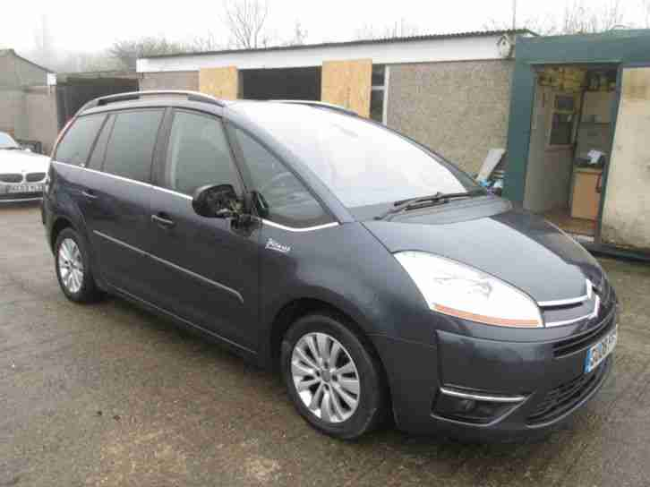 citroen 2008 08 grand c4 picasso 1 6hdi egs exclusive automatic car for sale. Black Bedroom Furniture Sets. Home Design Ideas