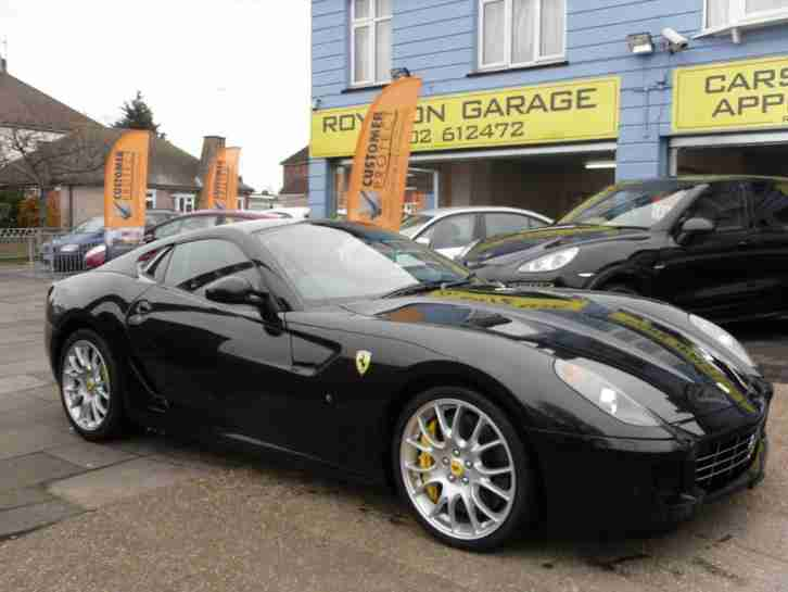 2008 08 FERRARI 599 GTB F1 FULL SERVICE HISTORY CHEAPEST RHD CAR IN ENGLAND