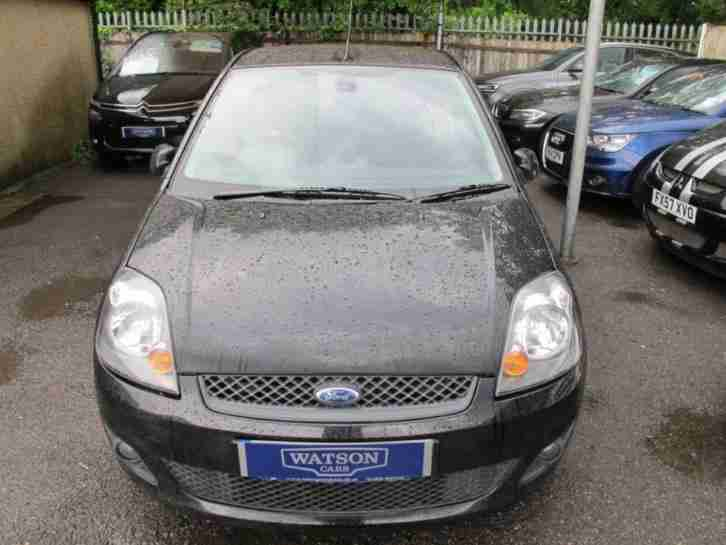 2008 08 FORD FIESTA 1.4 ZETEC BLUE EDITION 3D 80 BHP B TOOTH + LOW MILES