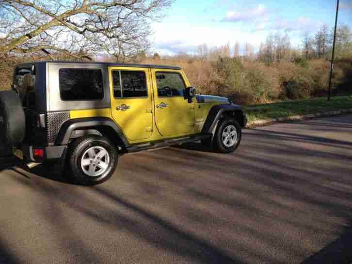 2008 (08) Jeep Wrangler 2.8 CRD Sport Unlimited 4DR Manual Diesel 4x4