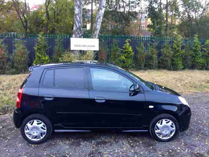 2008 '08' Kia Picanto 1.1 ICE BLACK! 5 DOOR! LOW INSURANCE