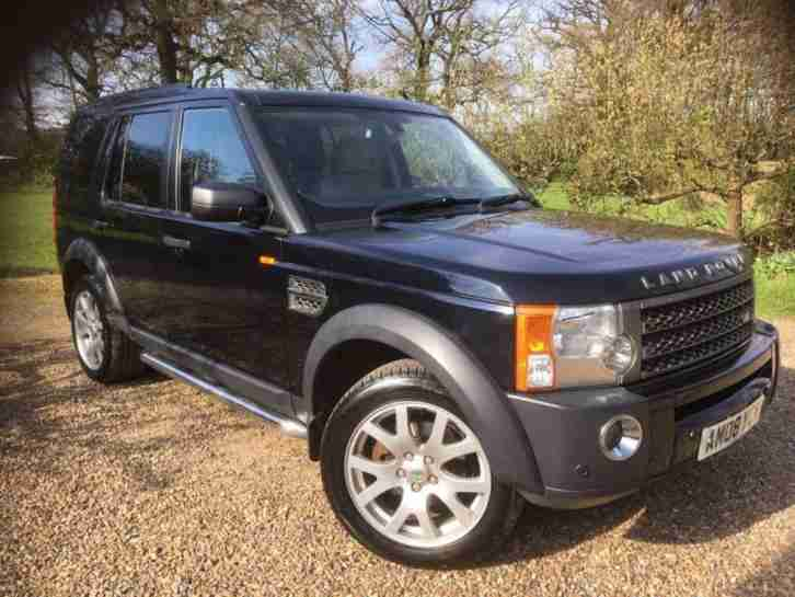 2008 08 LAND ROVER DISCOVERY 2.7 3 TDV6 SE 5D