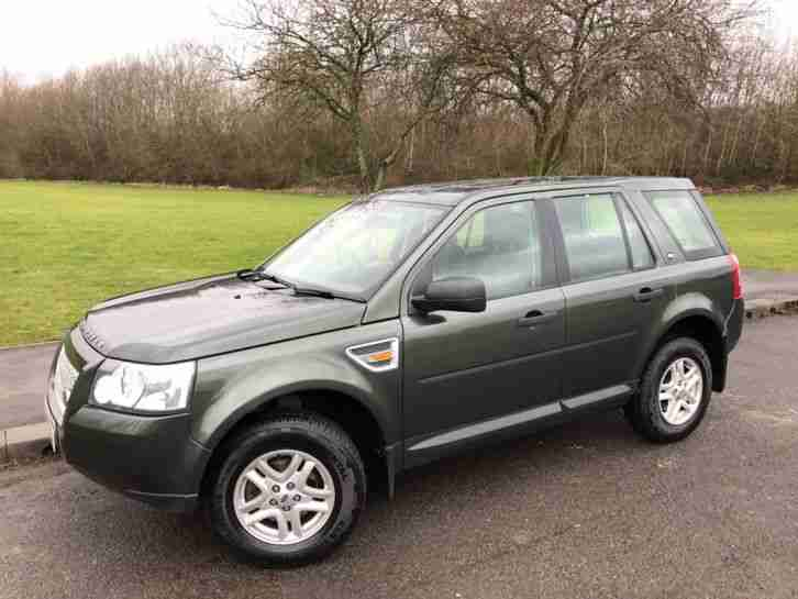 2008 08 Land Rover Freelander 2 2 2 Td4 S Green Diesel 4x4 Car For Sale