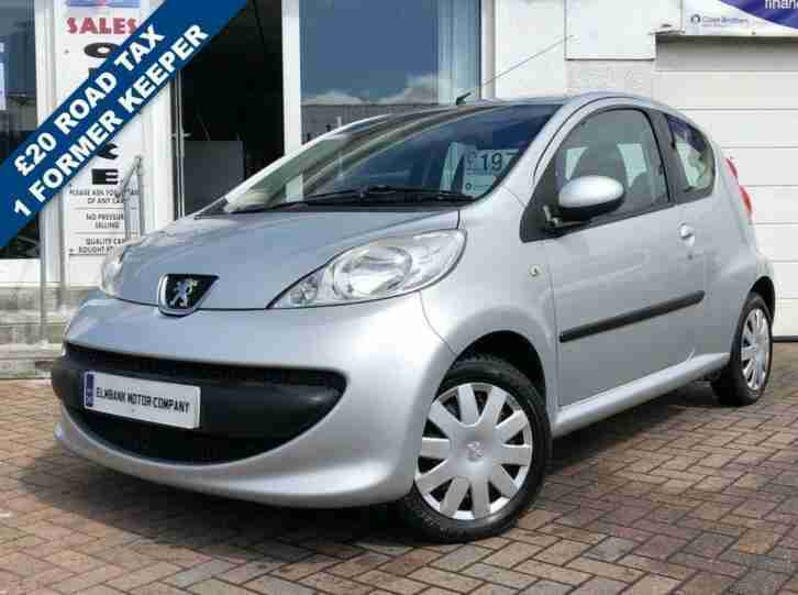 2008 08 PEUGEOT 107 1.0 URBAN 3D 68 BHP~LOW MILES~£20 TAX PER YEAR~