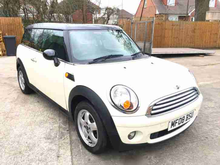 mini clubman 2008 chilli pack
