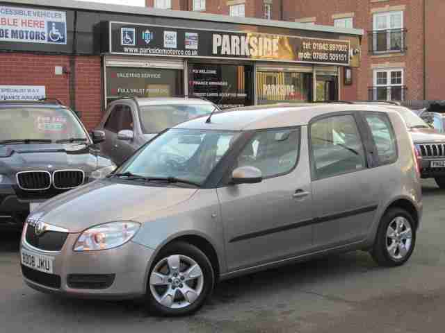 2008 (08) SKODA ROOMSTER 1.6 2 16V 5DR AUTOMATIC