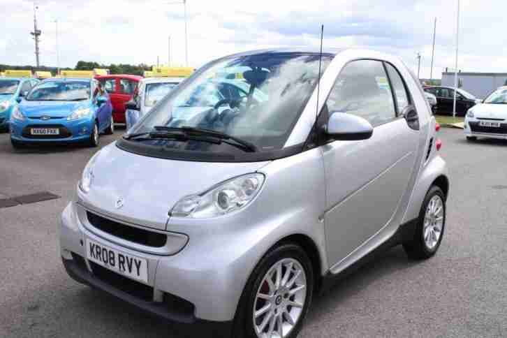 2008 08 SMART FORTWO 1.0 PASSION 2D AUTO 70 BHP