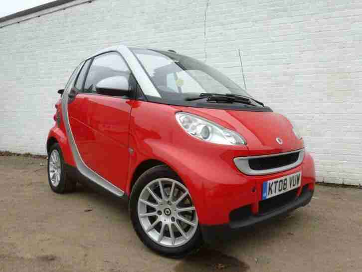 2008 08 SMART FORTWO CAB 1.0 PASSION AUTO GOOD BAD CREDIT CAR FINANCE AVAILABLE
