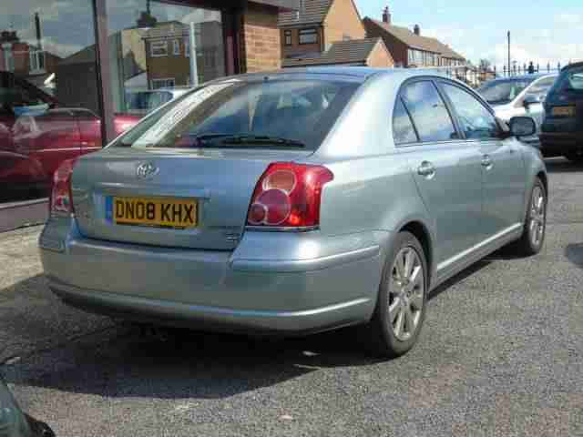 2008 (08) TOYOTA AVENSIS 2.2 D-4D TR