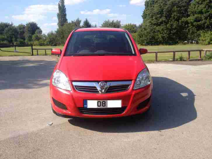 "2008 08 VAUXHALL ZAFIRA 2.2 EXCLUSIVE ""STUNNING CAR THROUGHOUT"""