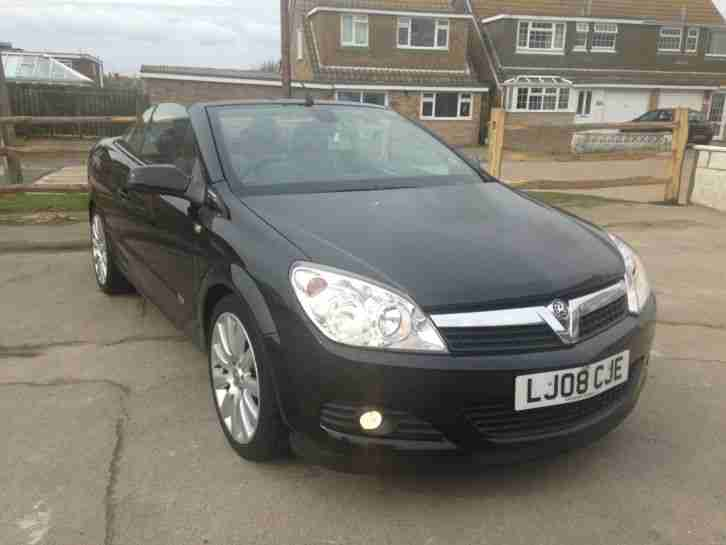 vauxhall 2008 1 8 astra twin top design black 58k car for sale. Black Bedroom Furniture Sets. Home Design Ideas