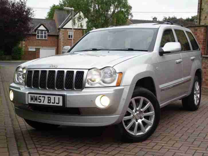 2008 57 JEEP GRAND CHEROKEE 3.0CRD V6 AUTO OVERLAND..VERY HIGH SPEC..STUNNING !!